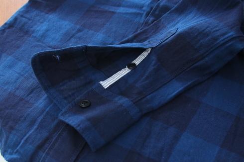 新作シャツ♪ INDIGO BLOCK SHIRTS出来ました♪_d0108933_17035414.jpg