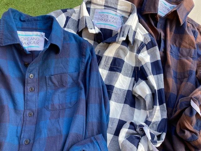 新作シャツ♪ INDIGO BLOCK SHIRTS出来ました♪_d0108933_21590199.jpg