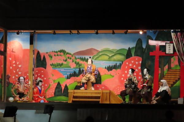 静かな境内で森岳歌舞伎が奉納されました_b0238249_20541382.jpg