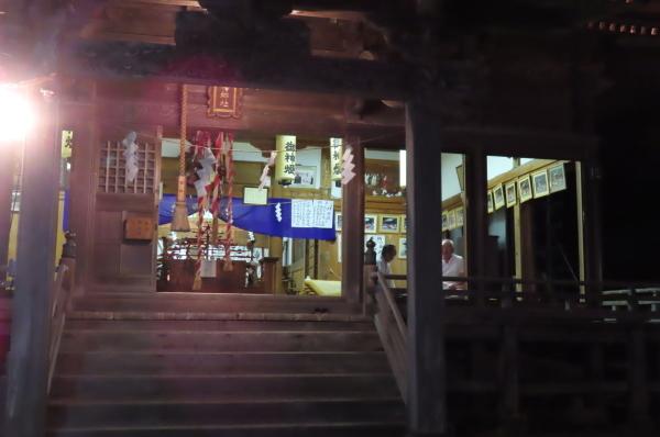 静かな境内で森岳歌舞伎が奉納されました_b0238249_21071306.jpg