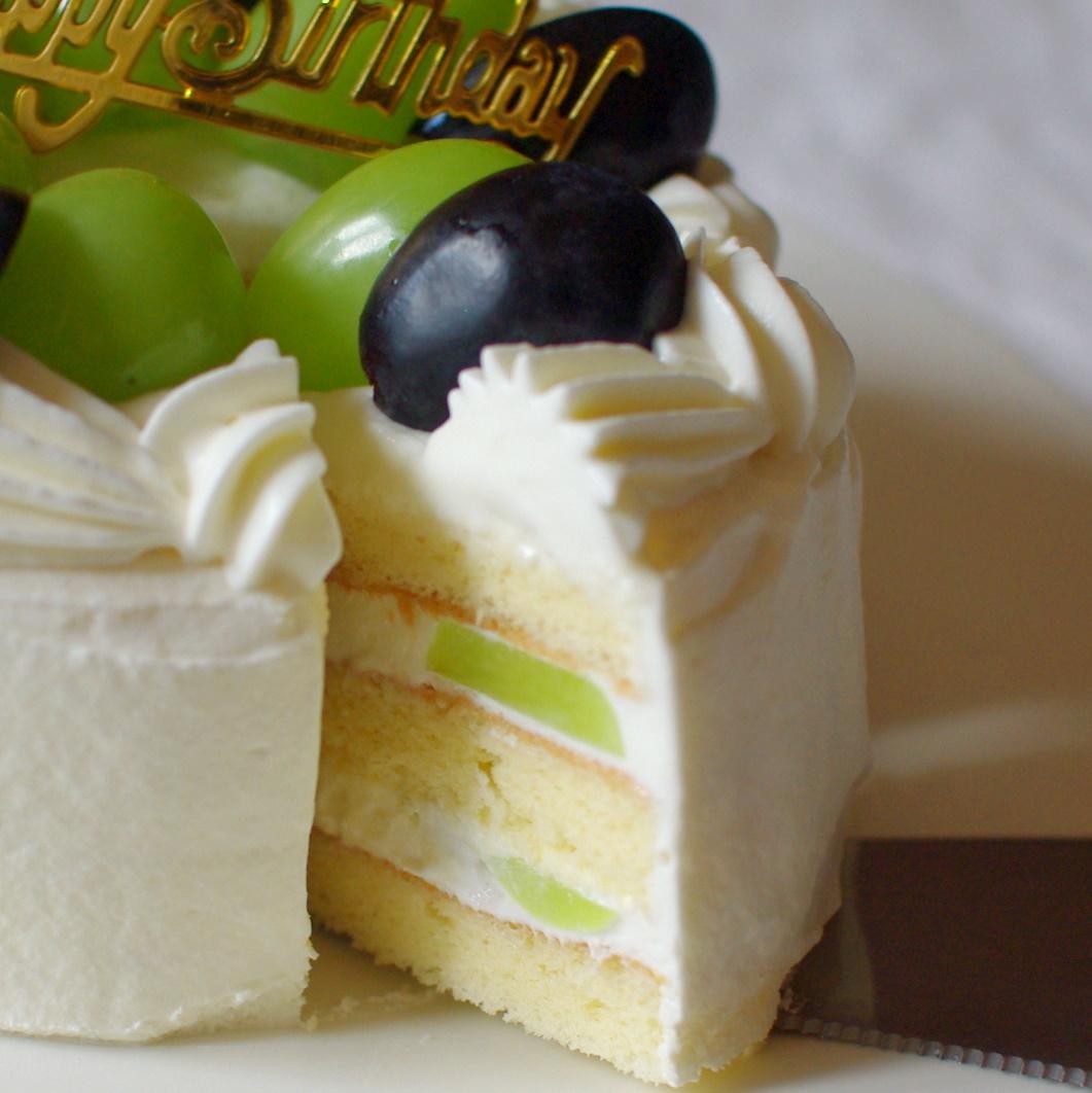 バースデーケーキ(ぶどうショートケーキ)_c0110869_04410157.jpg