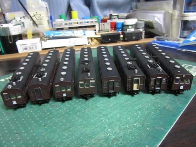 トミックス73形の整備で京浜東北線編成を組成する(一話完結)_c0360684_18414439.jpg