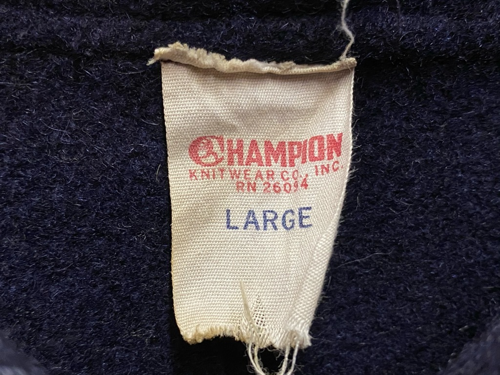 9月23日(水)マグネッツ大阪店冬物Vintage入荷日!! #3 アスレチック編!!Champion,Wilson,BROOKS UNIFORM CO.&Lettered!!_c0078587_11333466.jpg