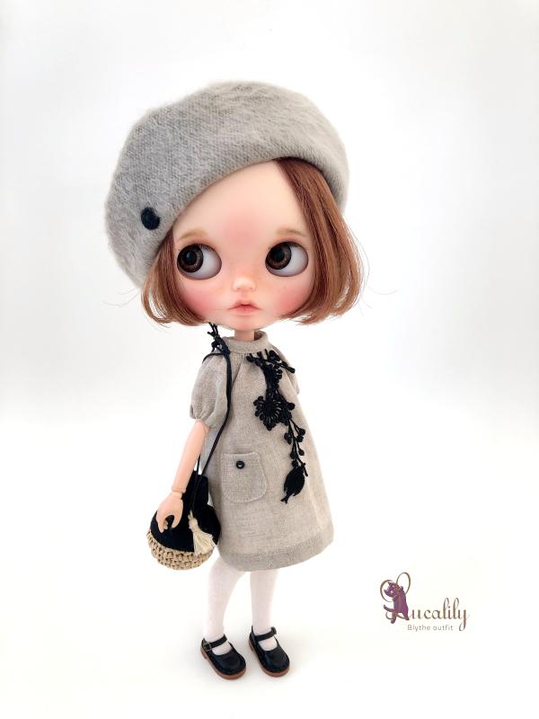 *lucalily * dolls clothes* Linen dress & Pants set *_d0217189_21250989.jpeg