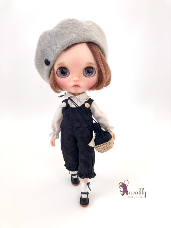*lucalily * dolls clothes* Linen dress & Pants set *_d0217189_21251859.jpeg