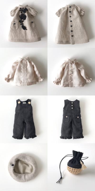 *lucalily * dolls clothes* Linen dress & Pants set *_d0217189_21253257.jpeg