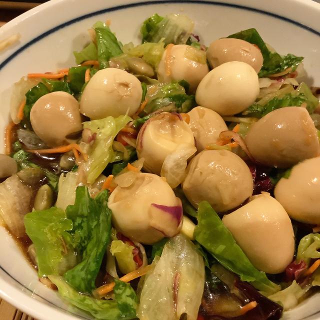 うずら卵と枝豆のサラダ_a0334793_21571031.jpg