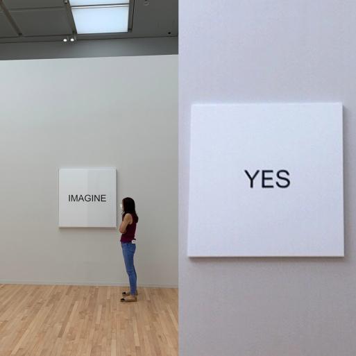 <YES>オノヨーコ展。_a0230996_21162976.jpg