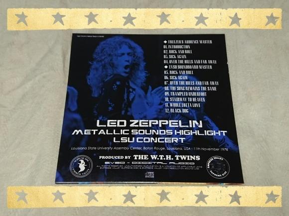 LED ZEPPELIN / METALLIC SOUNDS HIGHLIGHT LSU CONCERT_b0042308_17280687.jpg