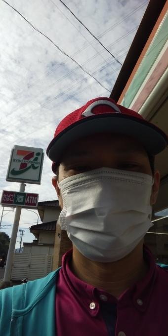 本日もアベノマスクよりコンビニのマスクで介護現場に出勤です!_e0094315_08264583.jpg