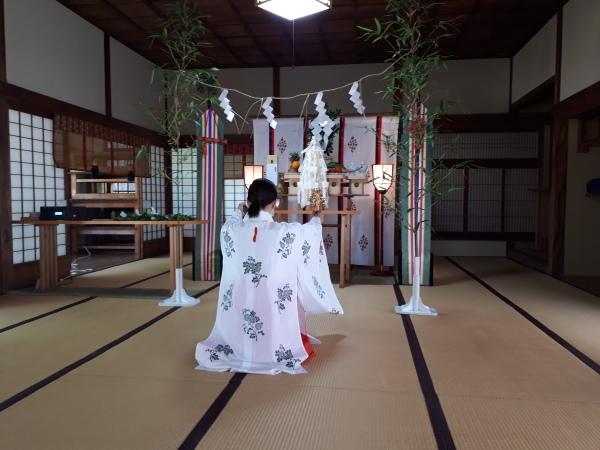 山王神燈会の合同祖霊祭が行われました_b0238249_18483328.jpg