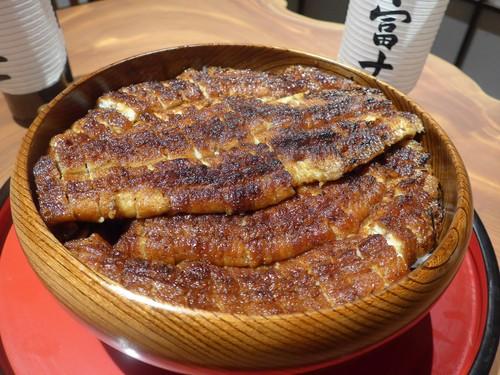 日比谷「炭焼 うな富士」へ行く。_f0232060_1511543.jpg
