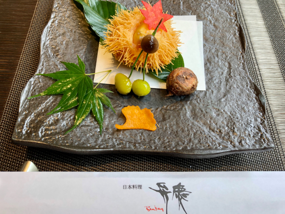 ホテル日航大阪 日本料理弁慶_d0339676_14312635.jpg