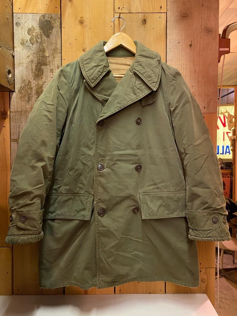 9月23日(水)マグネッツ大阪店冬物Vintage入荷日!! #5 U.S.Army Coat編!! M-43JeepCoat,M-38Mackinaw,M-42Officer&M-50FieldCo_c0078587_15310862.jpg