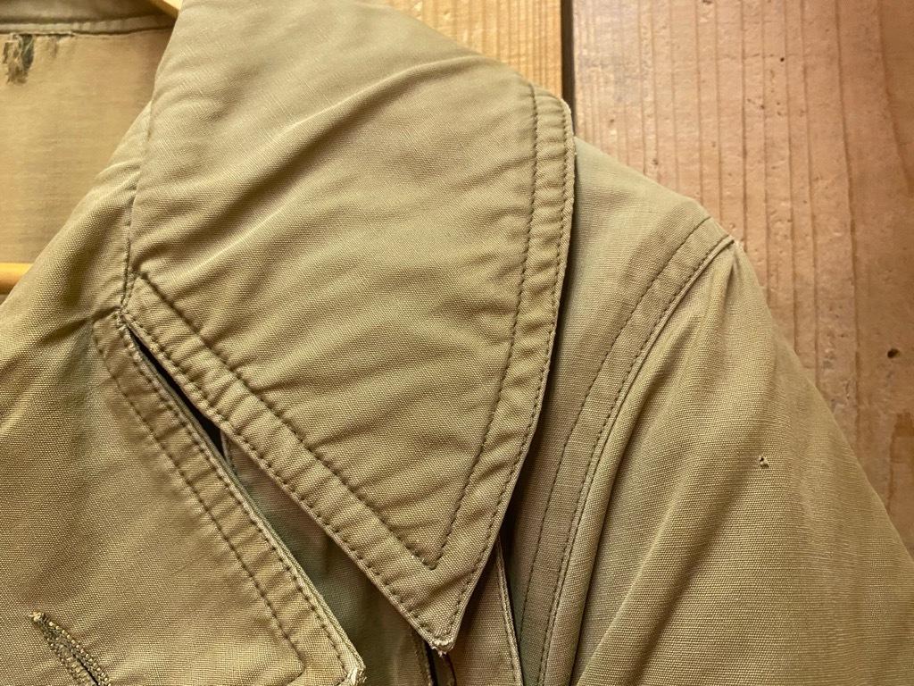 9月23日(水)マグネッツ大阪店冬物Vintage入荷日!! #5 U.S.Army Coat編!! M-43JeepCoat,M-38Mackinaw,M-42Officer&M-50FieldCo_c0078587_15324277.jpg