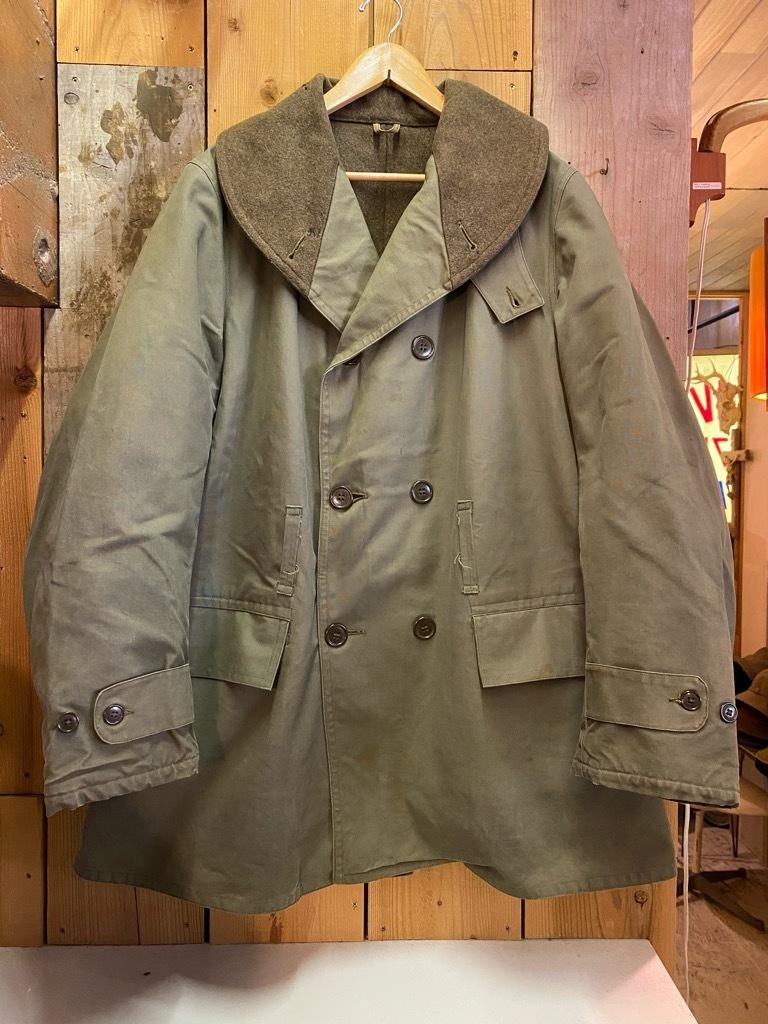 9月23日(水)マグネッツ大阪店冬物Vintage入荷日!! #5 U.S.Army Coat編!! M-43JeepCoat,M-38Mackinaw,M-42Officer&M-50FieldCo_c0078587_15425246.jpg