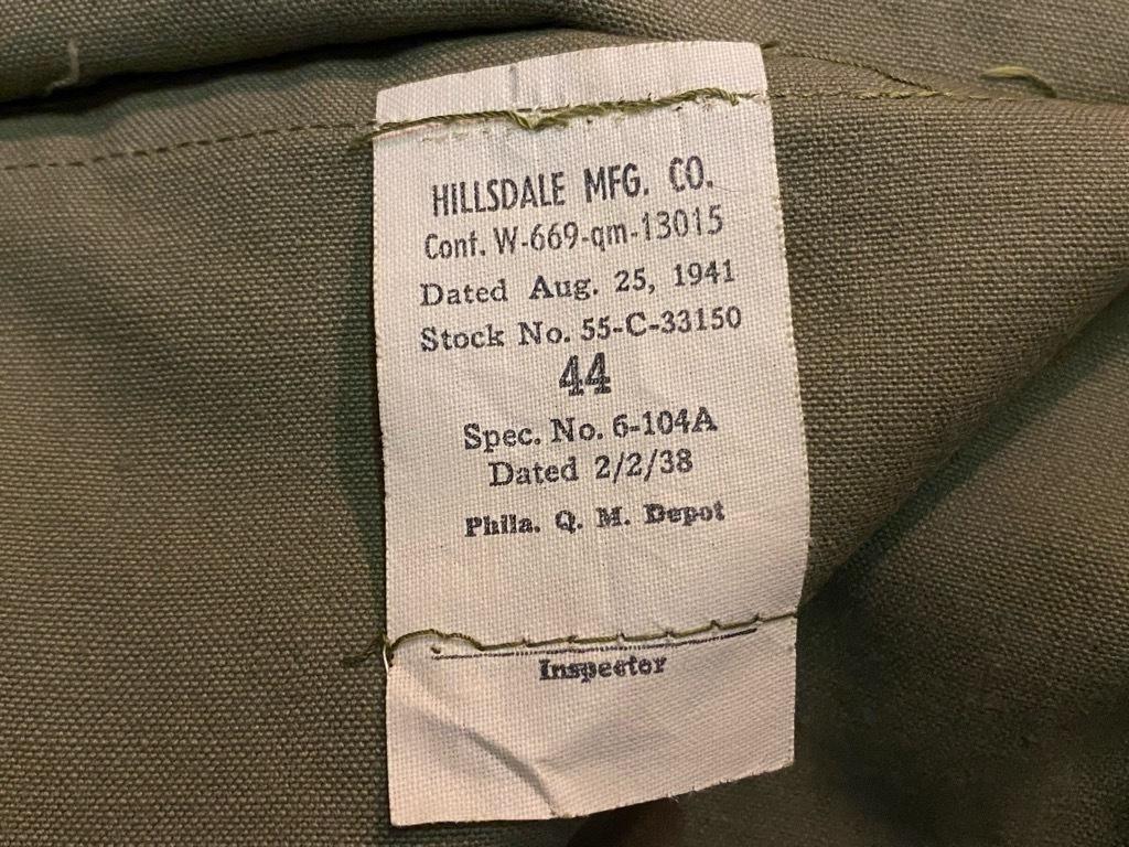 9月23日(水)マグネッツ大阪店冬物Vintage入荷日!! #5 U.S.Army Coat編!! M-43JeepCoat,M-38Mackinaw,M-42Officer&M-50FieldCo_c0078587_15425850.jpg