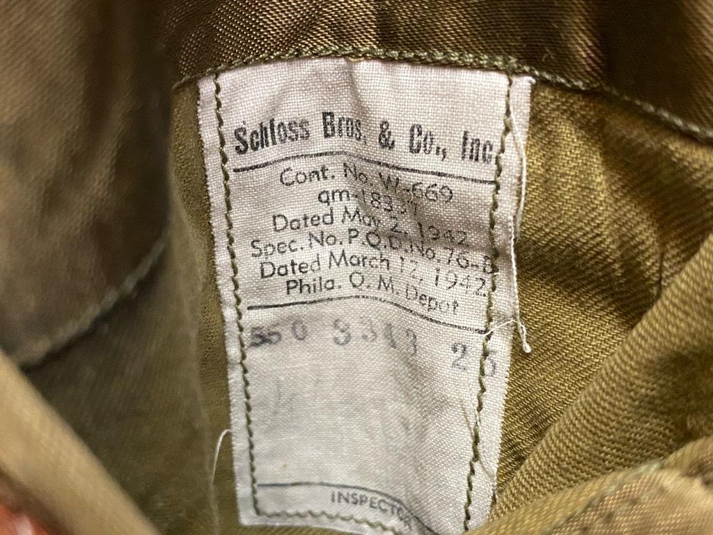 9月23日(水)マグネッツ大阪店冬物Vintage入荷日!! #5 U.S.Army Coat編!! M-43JeepCoat,M-38Mackinaw,M-42Officer&M-50FieldCo_c0078587_15584799.jpg