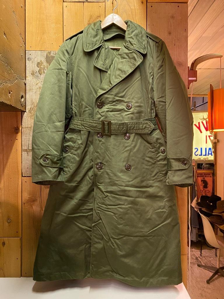 9月23日(水)マグネッツ大阪店冬物Vintage入荷日!! #5 U.S.Army Coat編!! M-43JeepCoat,M-38Mackinaw,M-42Officer&M-50FieldCo_c0078587_16004555.jpg
