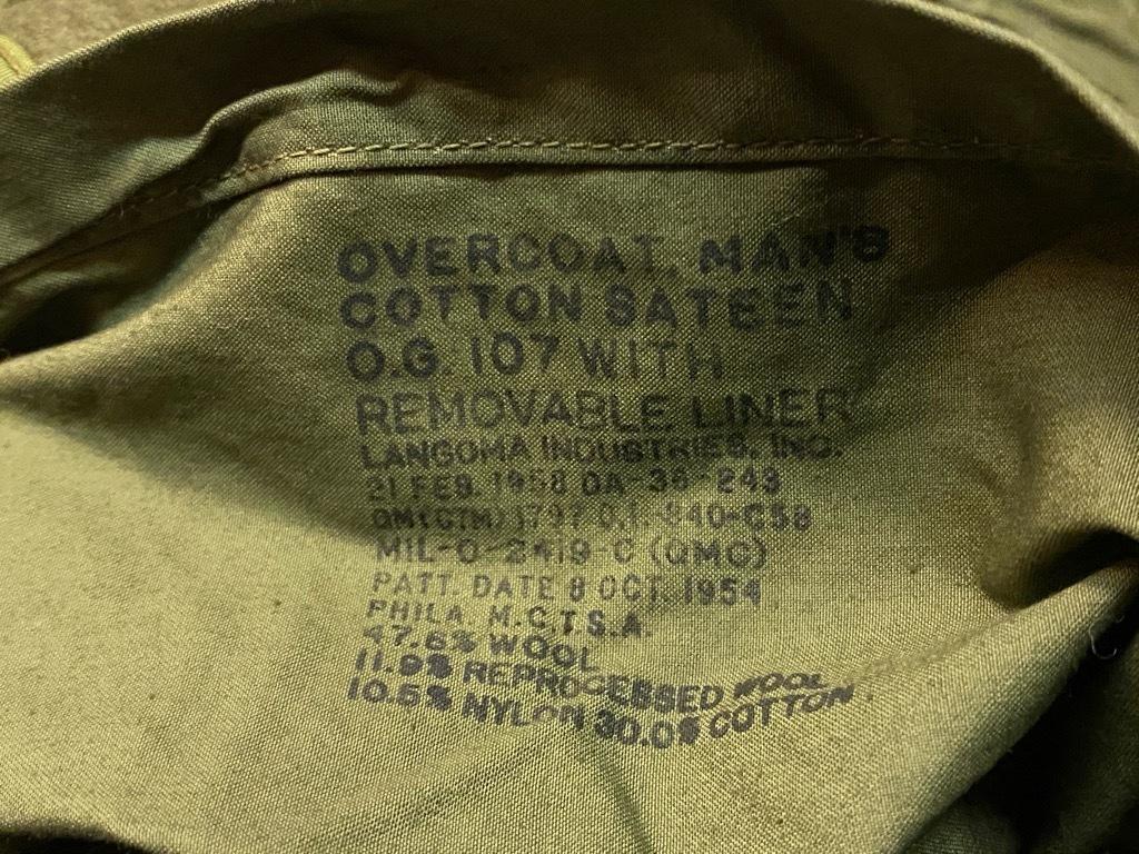 9月23日(水)マグネッツ大阪店冬物Vintage入荷日!! #5 U.S.Army Coat編!! M-43JeepCoat,M-38Mackinaw,M-42Officer&M-50FieldCo_c0078587_16005822.jpg