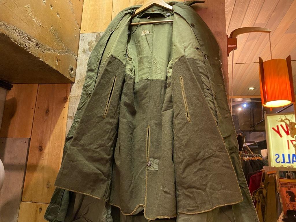 9月23日(水)マグネッツ大阪店冬物Vintage入荷日!! #5 U.S.Army Coat編!! M-43JeepCoat,M-38Mackinaw,M-42Officer&M-50FieldCo_c0078587_16015591.jpg