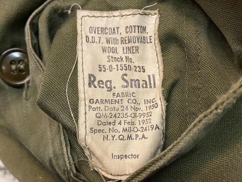 9月23日(水)マグネッツ大阪店冬物Vintage入荷日!! #5 U.S.Army Coat編!! M-43JeepCoat,M-38Mackinaw,M-42Officer&M-50FieldCo_c0078587_16020078.jpg