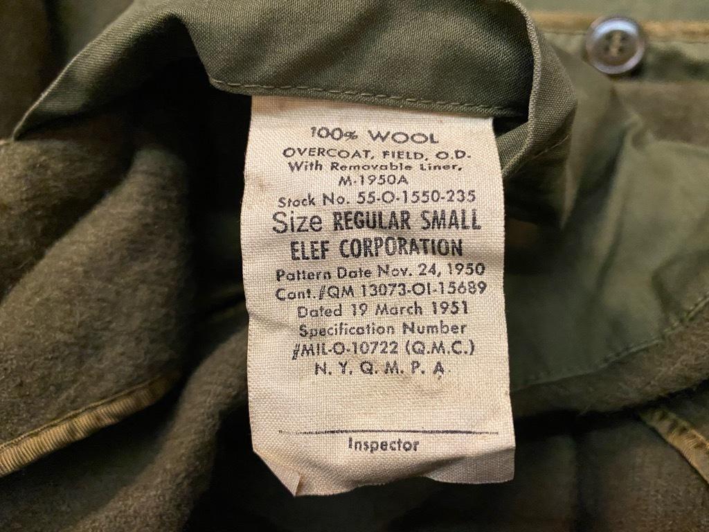 9月23日(水)マグネッツ大阪店冬物Vintage入荷日!! #5 U.S.Army Coat編!! M-43JeepCoat,M-38Mackinaw,M-42Officer&M-50FieldCo_c0078587_16020588.jpg
