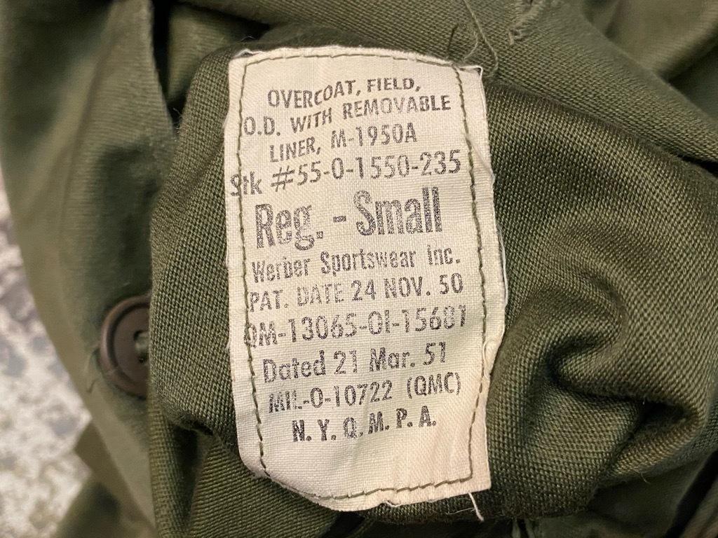 9月23日(水)マグネッツ大阪店冬物Vintage入荷日!! #5 U.S.Army Coat編!! M-43JeepCoat,M-38Mackinaw,M-42Officer&M-50FieldCo_c0078587_16031572.jpg