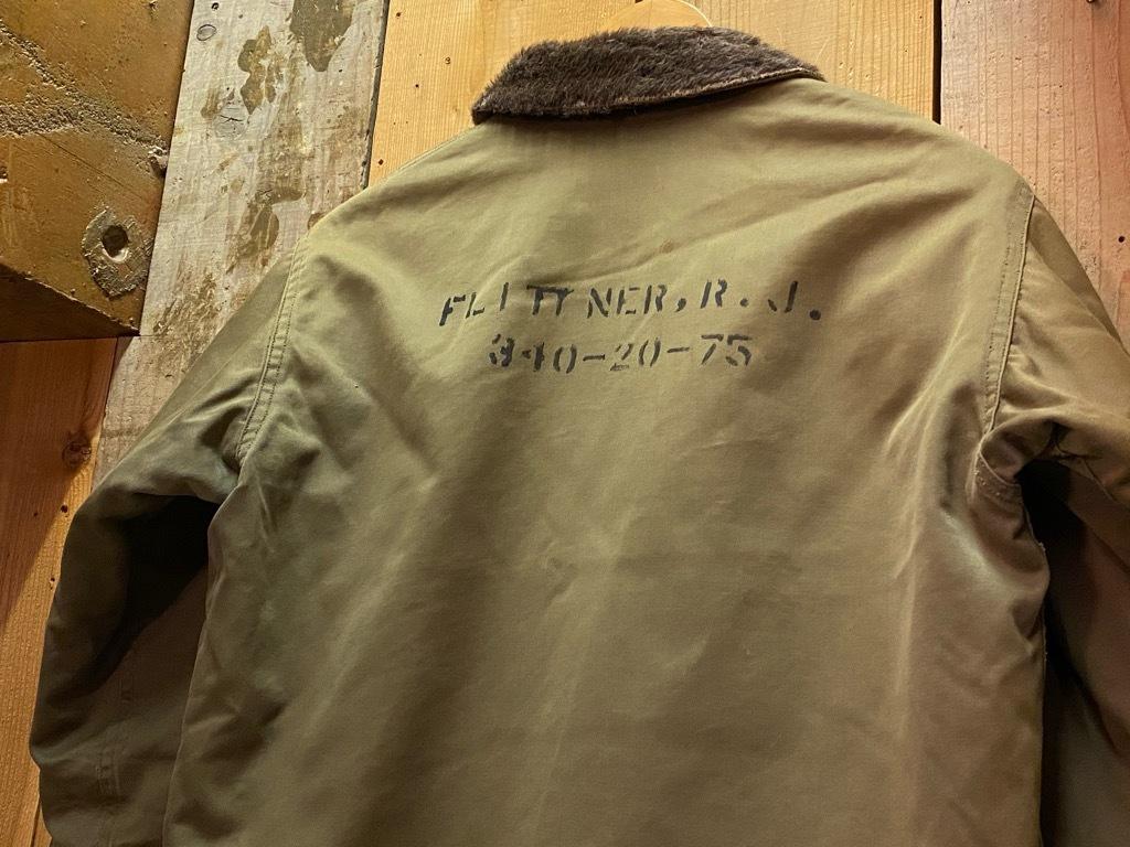 9月23日(水)マグネッツ大阪店冬物Vintage入荷日!! #6 U.S.Navy編!! N-1Deck,N-2Parka,DeckPants&10-ButtonP-Coat!!_c0078587_18180919.jpg