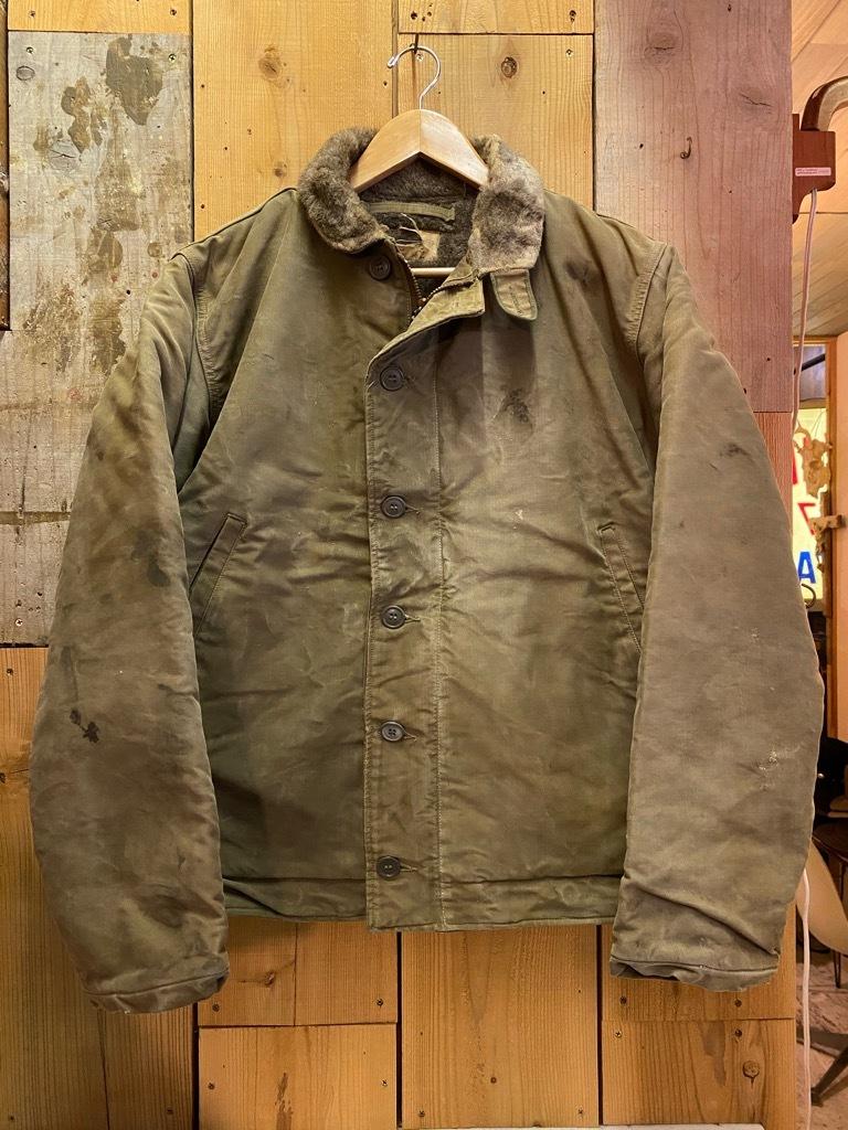 9月23日(水)マグネッツ大阪店冬物Vintage入荷日!! #6 U.S.Navy編!! N-1Deck,N-2Parka,DeckPants&10-ButtonP-Coat!!_c0078587_18202070.jpg