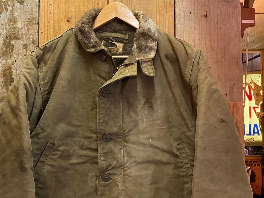9月23日(水)マグネッツ大阪店冬物Vintage入荷日!! #6 U.S.Navy編!! N-1Deck,N-2Parka,DeckPants&10-ButtonP-Coat!!_c0078587_18202847.jpg