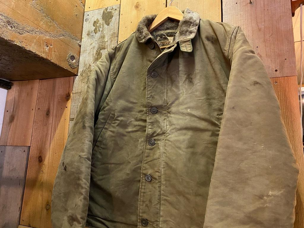 9月23日(水)マグネッツ大阪店冬物Vintage入荷日!! #6 U.S.Navy編!! N-1Deck,N-2Parka,DeckPants&10-ButtonP-Coat!!_c0078587_18202922.jpg