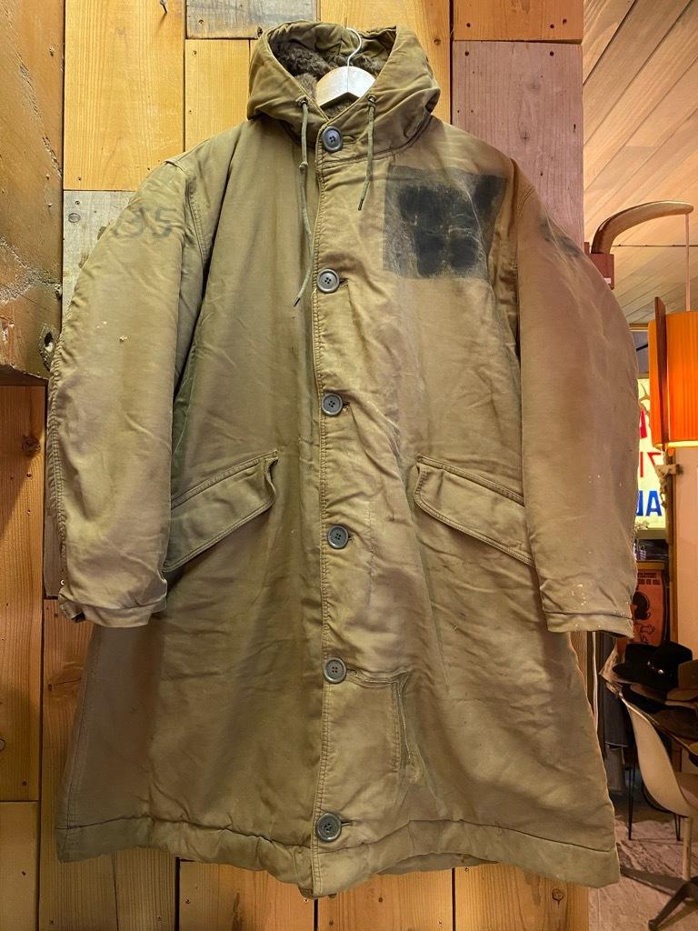 9月23日(水)マグネッツ大阪店冬物Vintage入荷日!! #6 U.S.Navy編!! N-1Deck,N-2Parka,DeckPants&10-ButtonP-Coat!!_c0078587_18222223.jpg