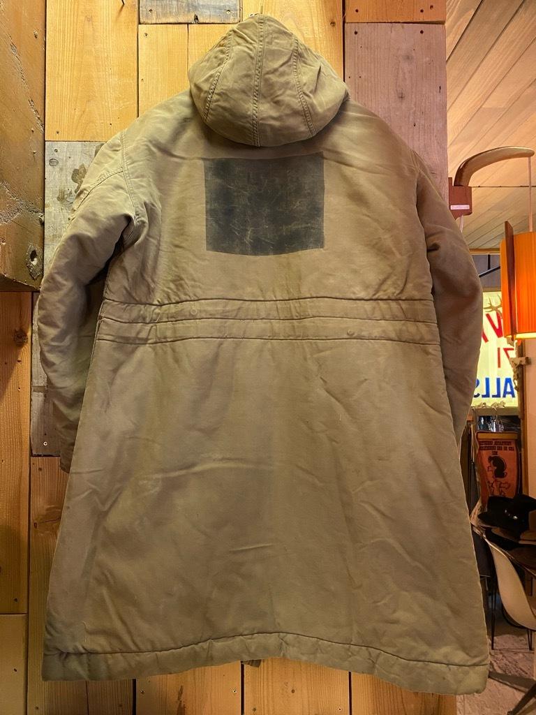 9月23日(水)マグネッツ大阪店冬物Vintage入荷日!! #6 U.S.Navy編!! N-1Deck,N-2Parka,DeckPants&10-ButtonP-Coat!!_c0078587_18224712.jpg