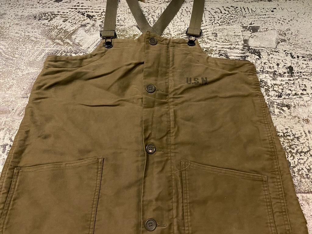 9月23日(水)マグネッツ大阪店冬物Vintage入荷日!! #6 U.S.Navy編!! N-1Deck,N-2Parka,DeckPants&10-ButtonP-Coat!!_c0078587_18265155.jpg