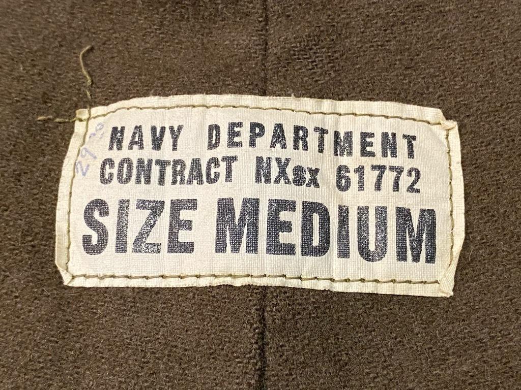 9月23日(水)マグネッツ大阪店冬物Vintage入荷日!! #6 U.S.Navy編!! N-1Deck,N-2Parka,DeckPants&10-ButtonP-Coat!!_c0078587_18270263.jpg