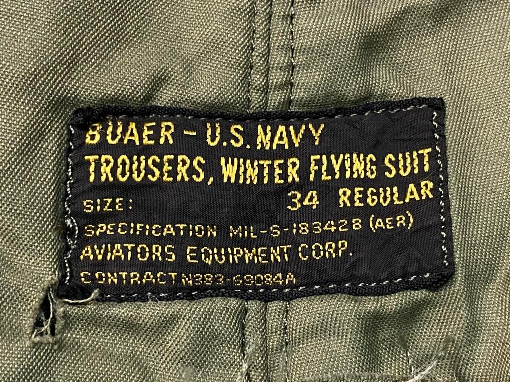 9月23日(水)マグネッツ大阪店冬物Vintage入荷日!! #6 U.S.Navy編!! N-1Deck,N-2Parka,DeckPants&10-ButtonP-Coat!!_c0078587_18293879.jpg