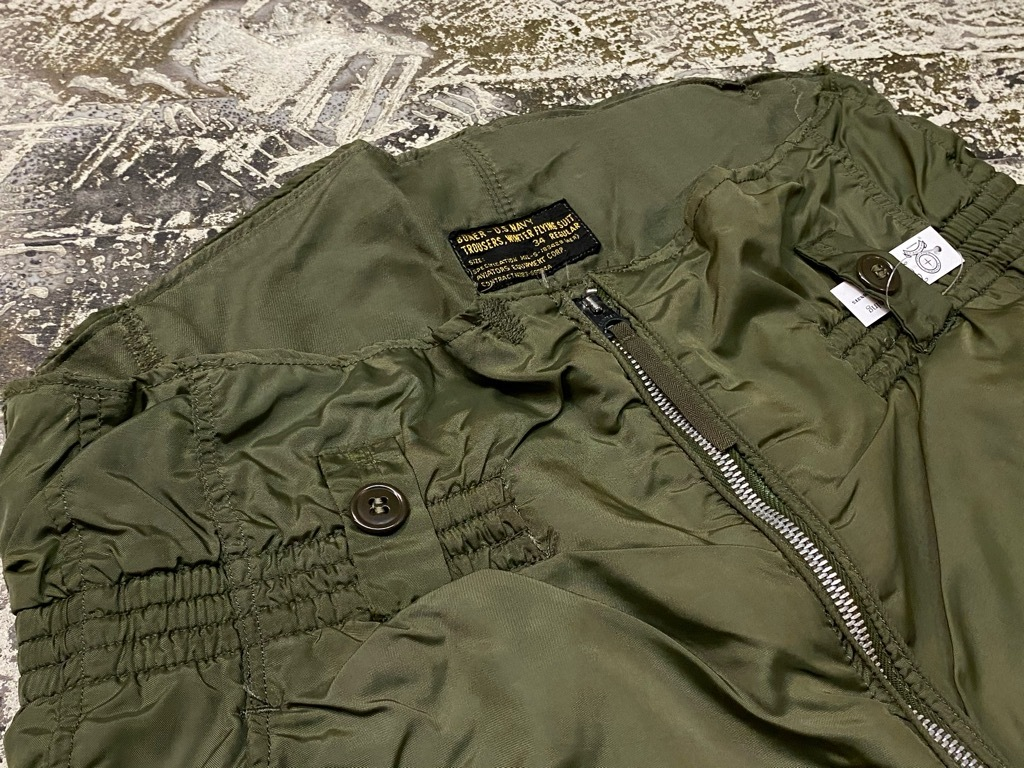 9月23日(水)マグネッツ大阪店冬物Vintage入荷日!! #6 U.S.Navy編!! N-1Deck,N-2Parka,DeckPants&10-ButtonP-Coat!!_c0078587_18293909.jpg