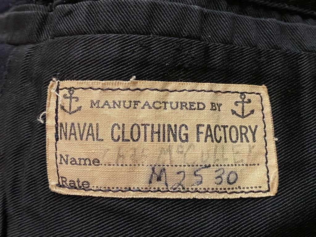 9月23日(水)マグネッツ大阪店冬物Vintage入荷日!! #6 U.S.Navy編!! N-1Deck,N-2Parka,DeckPants&10-ButtonP-Coat!!_c0078587_18430623.jpg