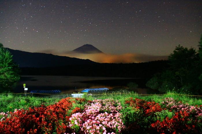 令和2年9月の富士(6) 西湖の夜の富士_e0344396_18043379.jpg