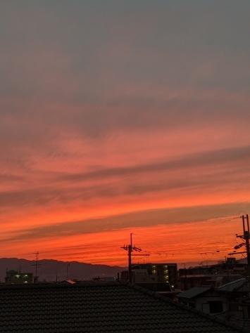 夕焼け_b0039898_06013025.jpg