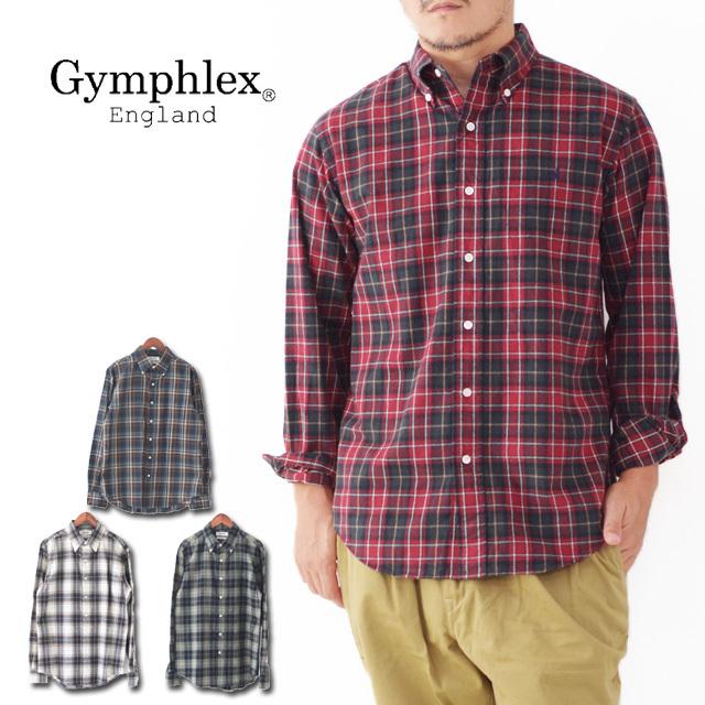 Gymphlex [ジムフレックス] M\'s 60/2ビエラ起毛チェック SHIRTS [J-0643 VHC] 長袖シャツ・チェックシャツ・MEN\'S _f0051306_16422276.jpg