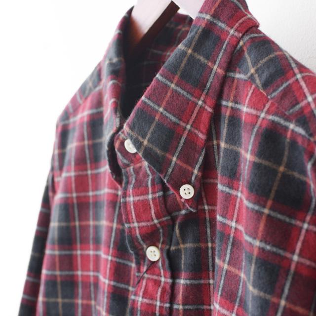 Gymphlex [ジムフレックス] M\'s 60/2ビエラ起毛チェック SHIRTS [J-0643 VHC] 長袖シャツ・チェックシャツ・MEN\'S _f0051306_16422326.jpg