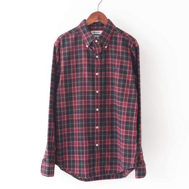 Gymphlex [ジムフレックス] M\'s 60/2ビエラ起毛チェック SHIRTS [J-0643 VHC] 長袖シャツ・チェックシャツ・MEN\'S _f0051306_16422356.jpg