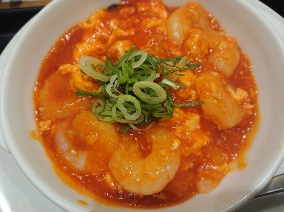 9/23 海老のチリソース定食¥730@松屋_b0042308_18031826.jpg