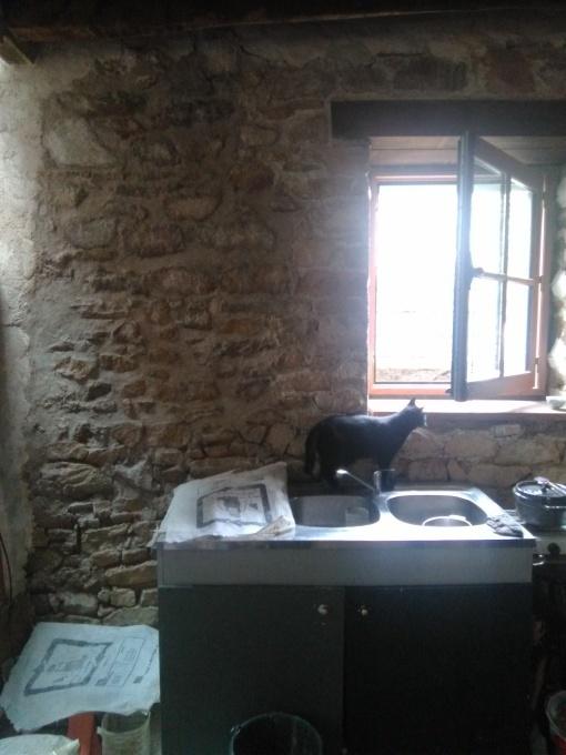 古い家の修復はまだまだつづく...  L\'infini... les travaux de la maison ancienne_e0206902_04184681.jpg