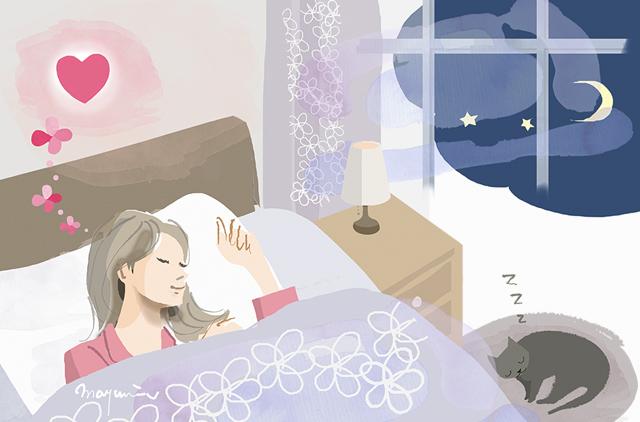 健やかな眠り〜せんねん灸妊活サイトより_f0172313_14504673.jpg
