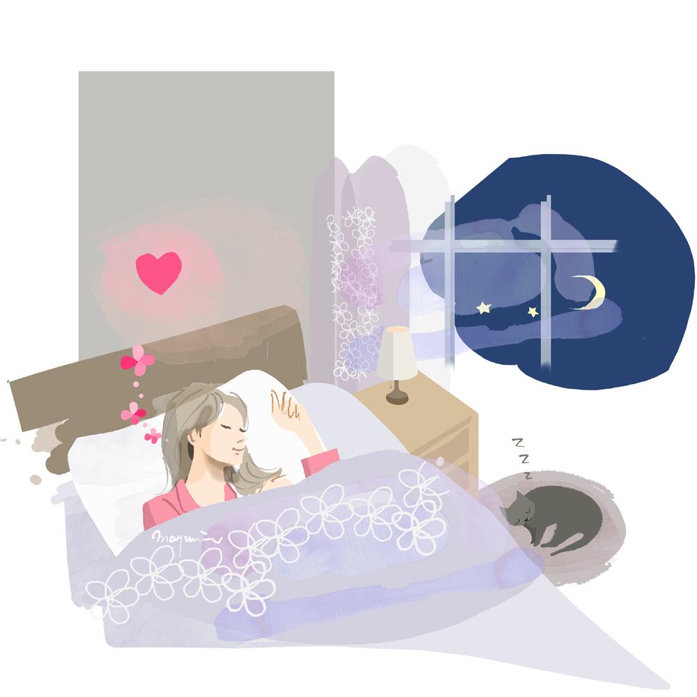 健やかな眠り〜せんねん灸妊活サイトより_f0172313_14514692.jpg