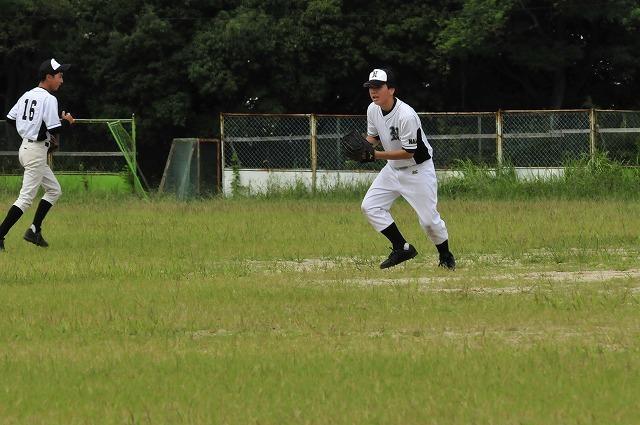 定通軟式野球交流試合_f0087620_10192975.jpg