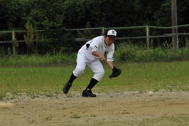 定通軟式野球交流試合_f0087620_10195947.jpg